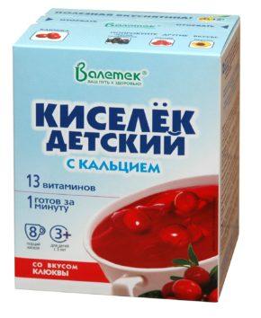 Кисель витаминизированный с кальцием, персик