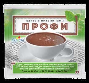 Какао с 13 витаминами «ПРОФИ» (25 гр)
