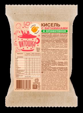 Кисель с витаминами и ПРЕБИОТИКОМ «Витошка» Абрикос 0,5 кг