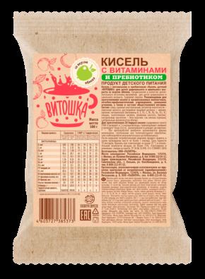 Кисель с витаминами и пребиотиком «ВИТОШКА»Яблоко