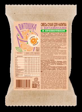 Напиток с 13 витаминами и ПРЕБИОТИКОМ «Витошка» Апельсин (1кг)